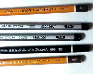 маркування простих олівців