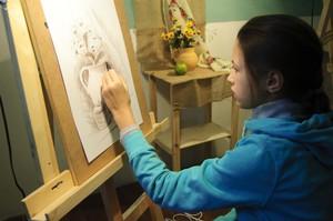 академический рисунок для детей в Киеве