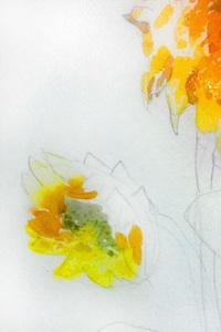 насичений відтінок жовтого кольору в напівтонах